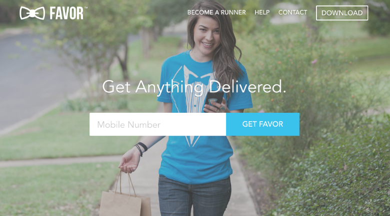 favor delivery app