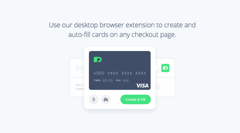privacy credit cards