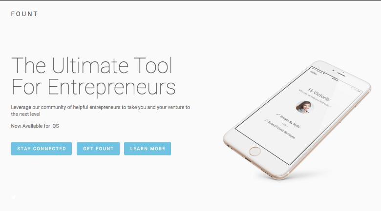 fount app entrepreneurs