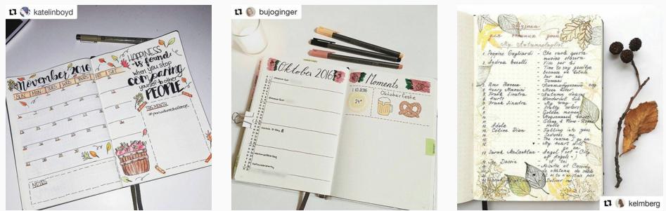 bullet journal instagram