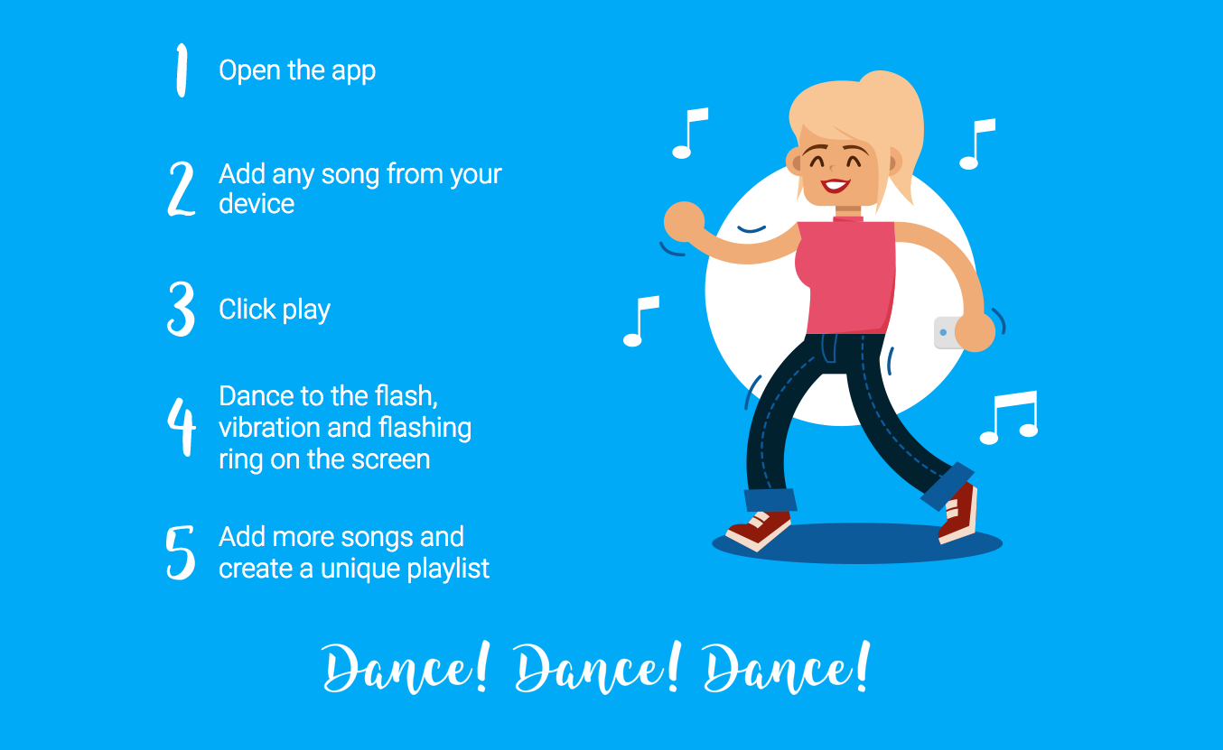bewarned dance for deaf