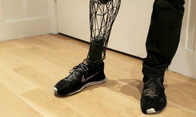 3d printed leg