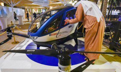 dubai drone taxis