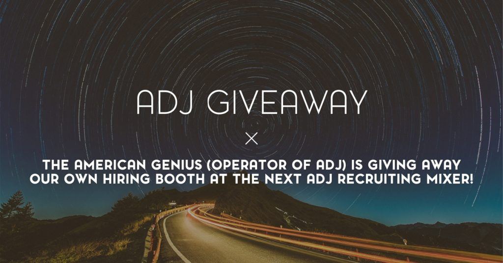adj giveaway