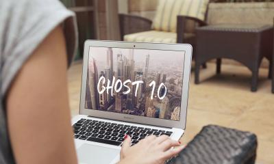ghost blog