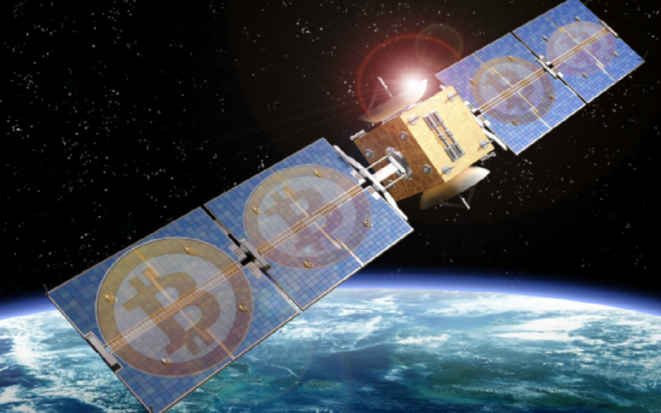 bitcoin in space