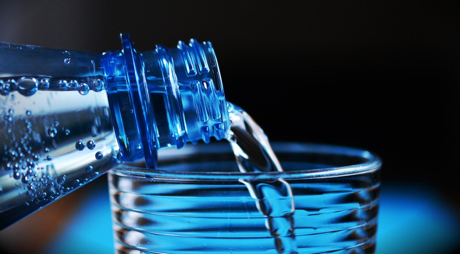 water bottle tap water