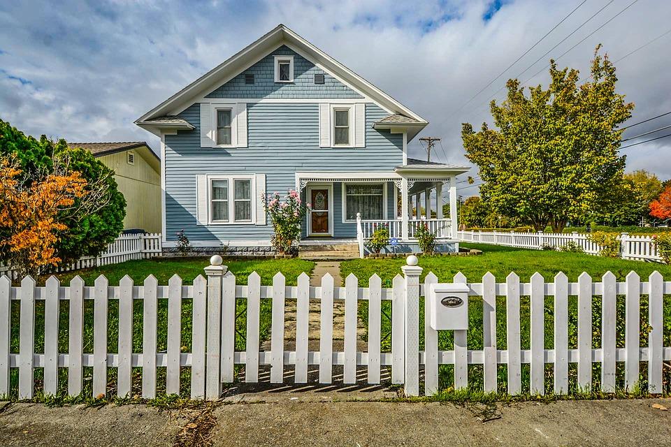 american dream white picket fence