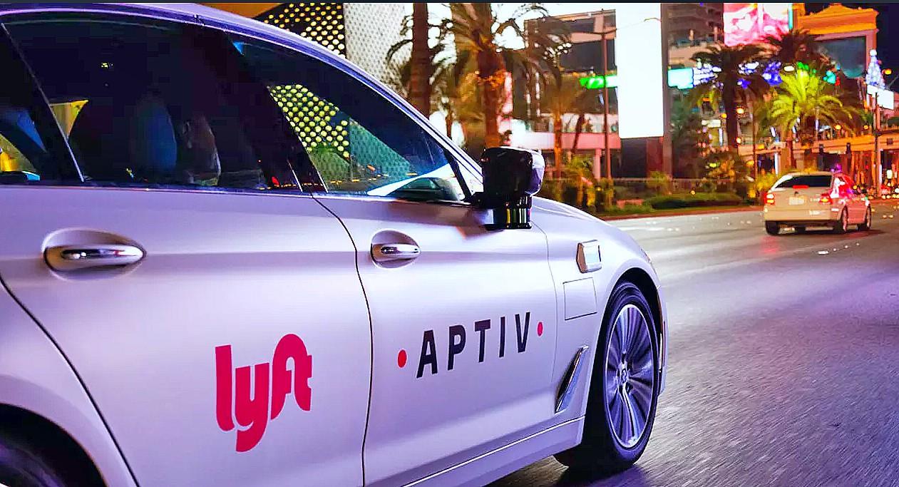 lyft self driving cars