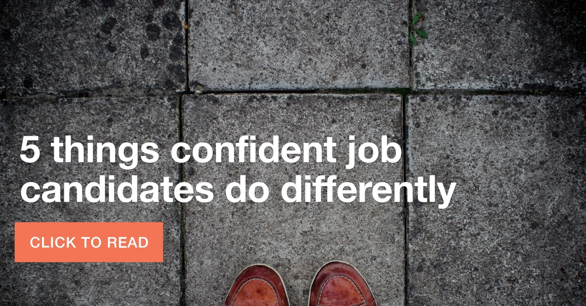 tips from confident job seekers