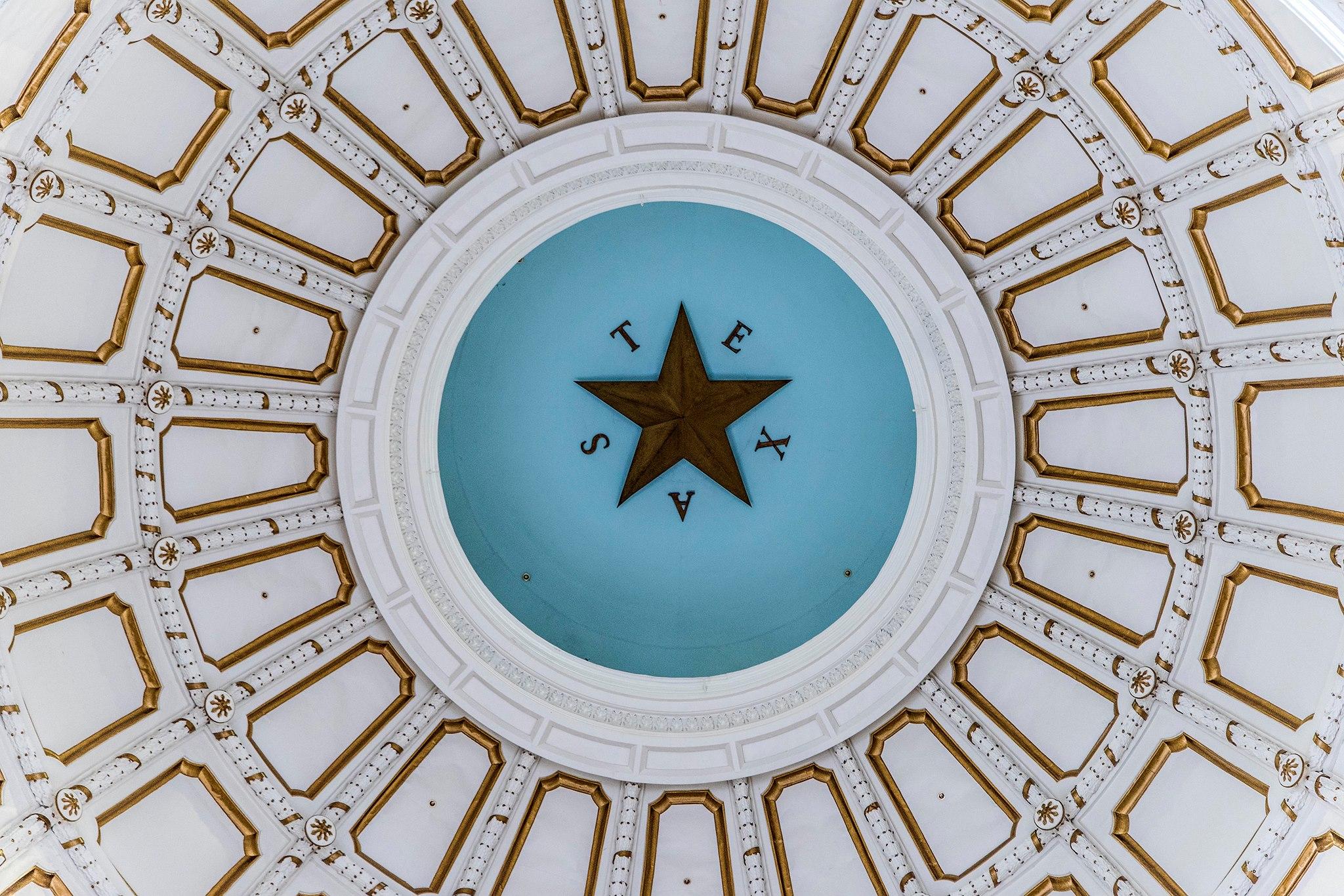 texas capitol ceiling