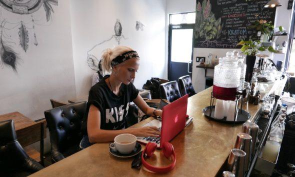entrepreneurs work place