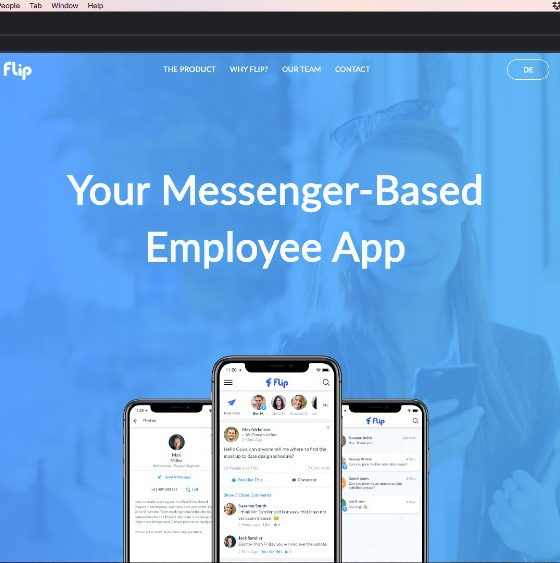 chat app Flip