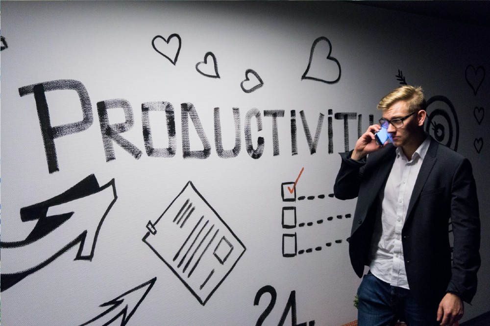 distractions stop productivity