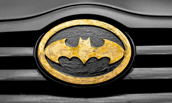 Batman symbol has long been a way to boost self-confidence.