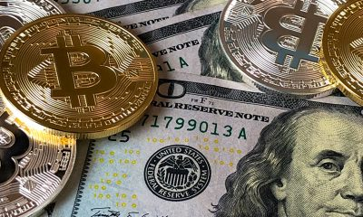 Cryptocurrency on top of US dollar.