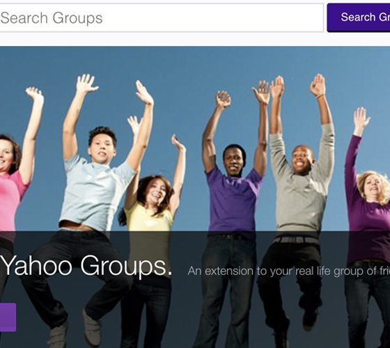 Yahoo Groups is shutting down.
