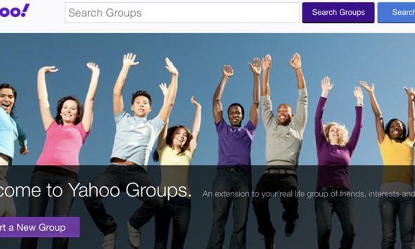 Yahoo Groups is shutting down.